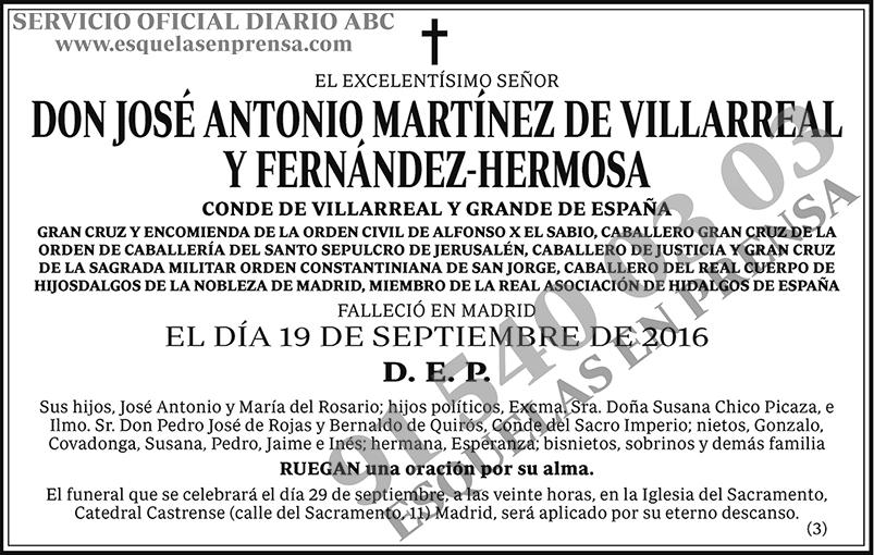 José Antonio Martínez Villareal y Fernández-Hermosa